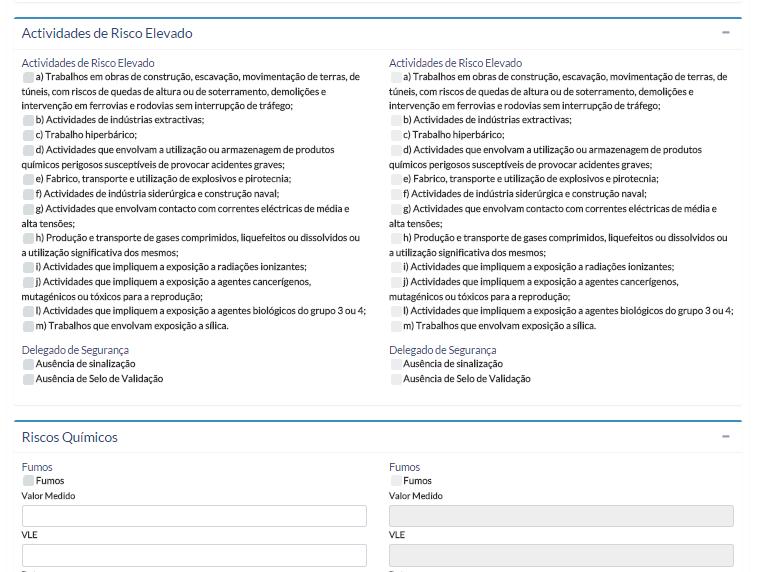 actividades_risco_elevado_parametrização_safemed_software_sst
